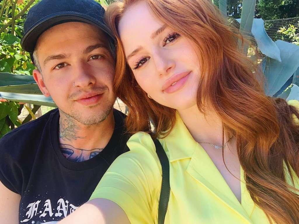Madelaine Petsch boyfriend Travis Mills