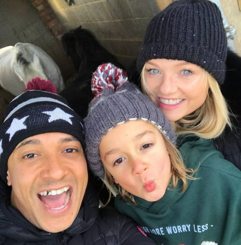 Emma Bunton children - son Tate Lee Jones