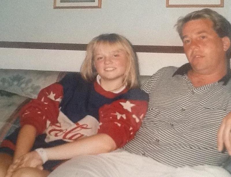 Emma Bunton's family - father Trevor Bunton