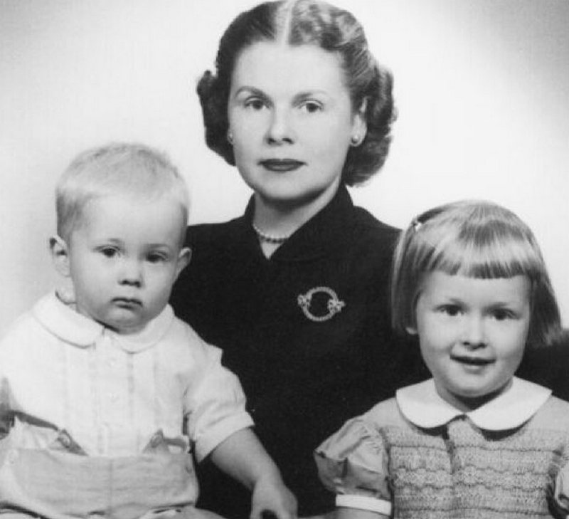 Meryl Streep family - mother Mary Wilkinson Streep