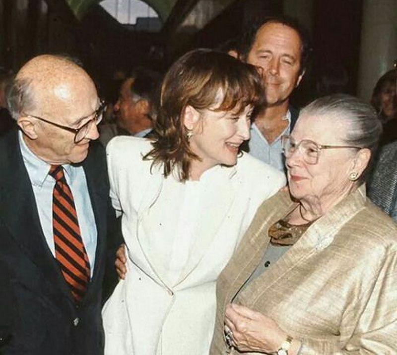 Meryl Streep family - father Harry William Streep Jr