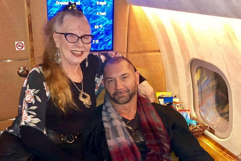 Dave Bautista family - mother Donna Raye Bautista
