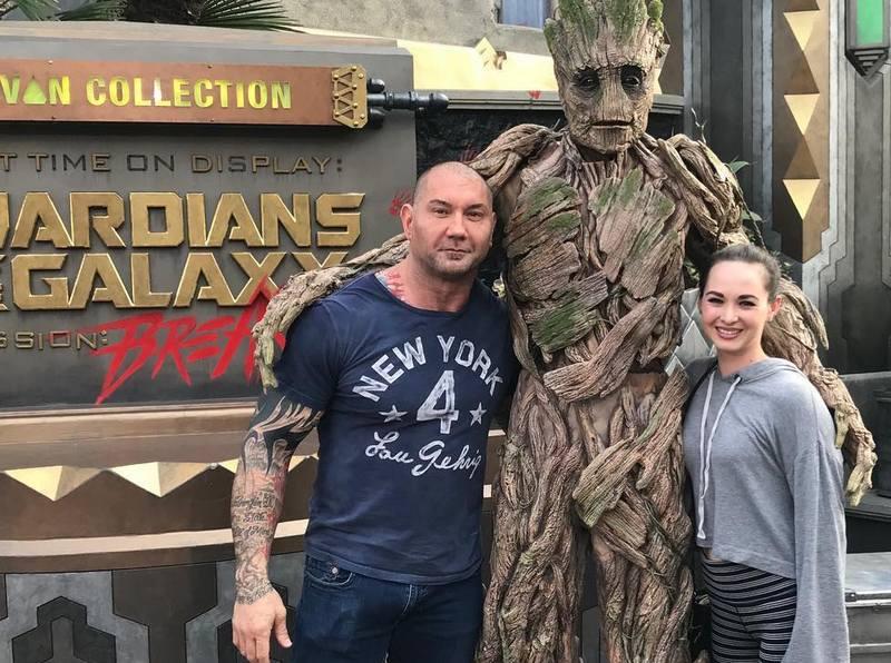 Dave Bautista family - ex-wife Sarah Jade
