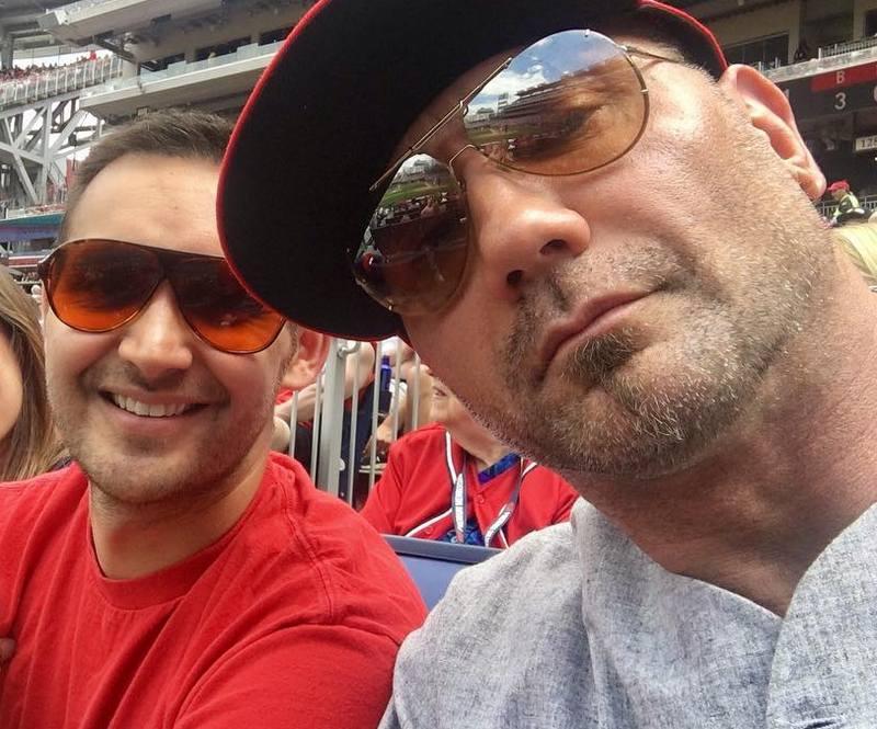 Dave Bautista siblings - half-brother Michael Bautista
