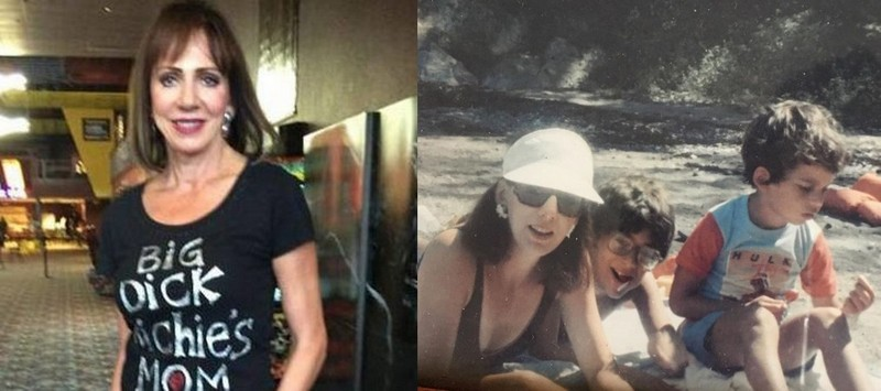 Joe Manganiello family - mother Susan Manganiello