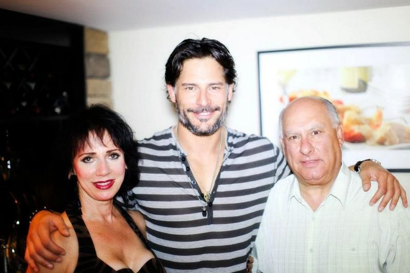 Joe Manganiello family - father Charles John Manganiello