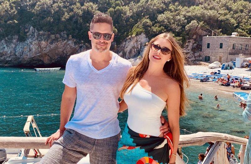 Joe Manganiello family - wife Sofia Vergara