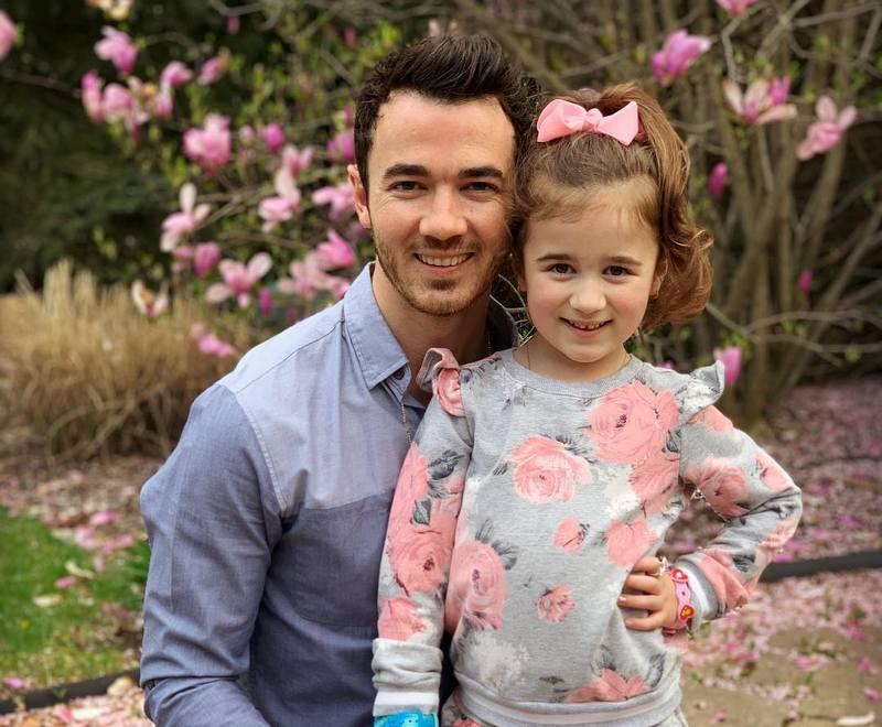 Kevin Jonas children - daughter Alena Rose Jonas