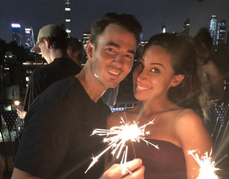 Kevin Jonas family - wife Danielle Jonas