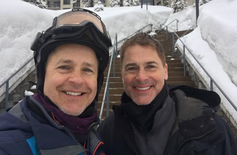Rob Lowe siblings - brother Chad Lowe