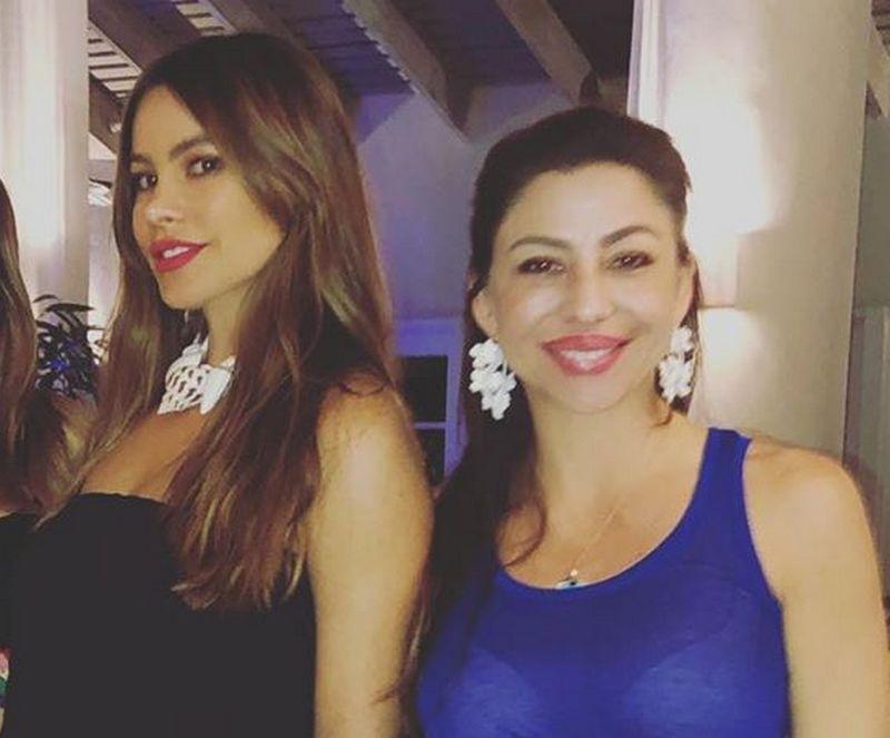 Sofia Vergara siblings - sister Veronica Vergara