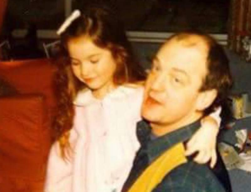 Lily James family - father James Thomson