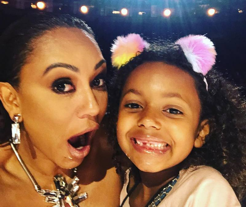 Mel B children - daughter Madison Brown Belafonte