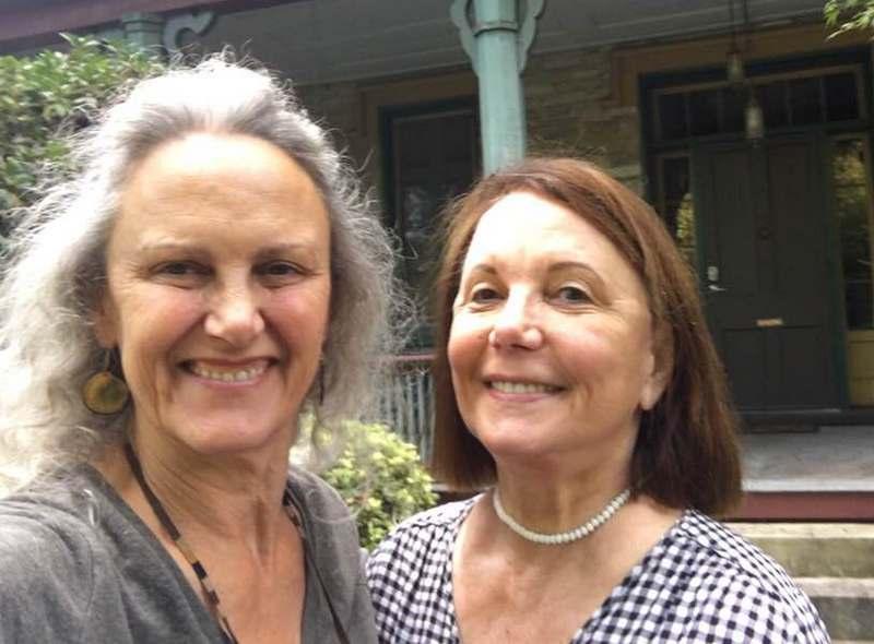 """Andie MacDowell siblings - sister Pauline """"Babs"""" Rogers"""
