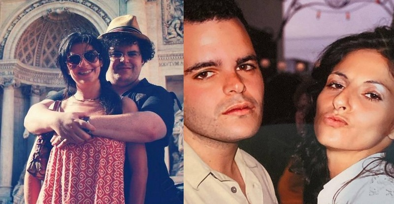 Josh Gad family - wife Ida Darvish