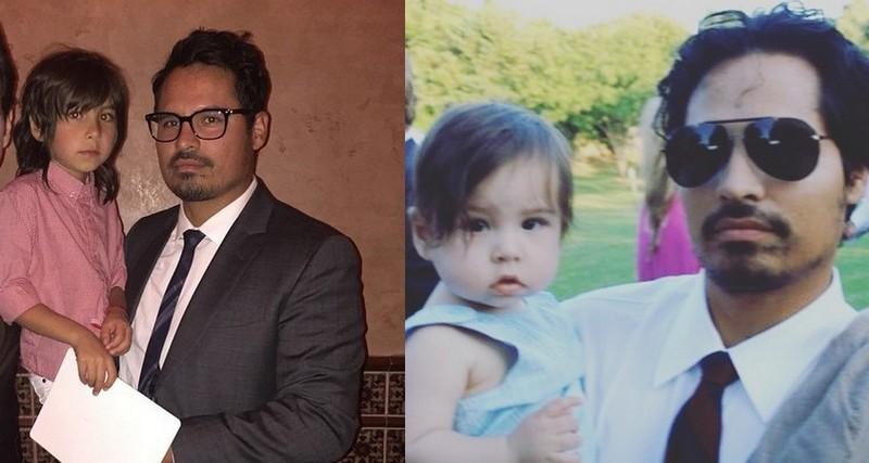 Michael Pena children - son Roman Peña