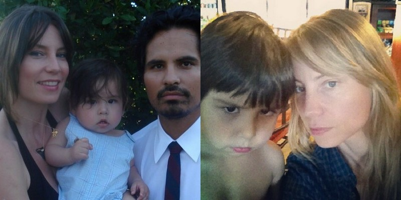 Michael Pena family - wife Brie Shaffer