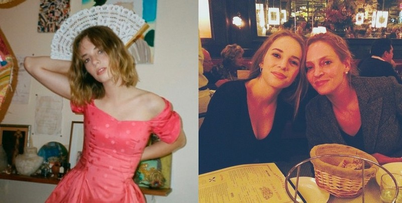 Uma Thurman children - daughter Maya Hawke