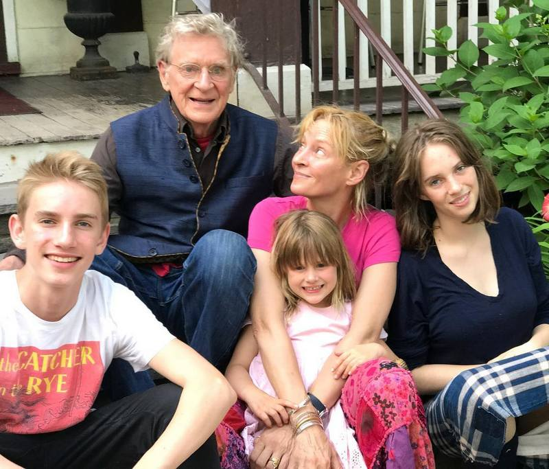 Uma Thurman family - father Robert A.F. Thurman