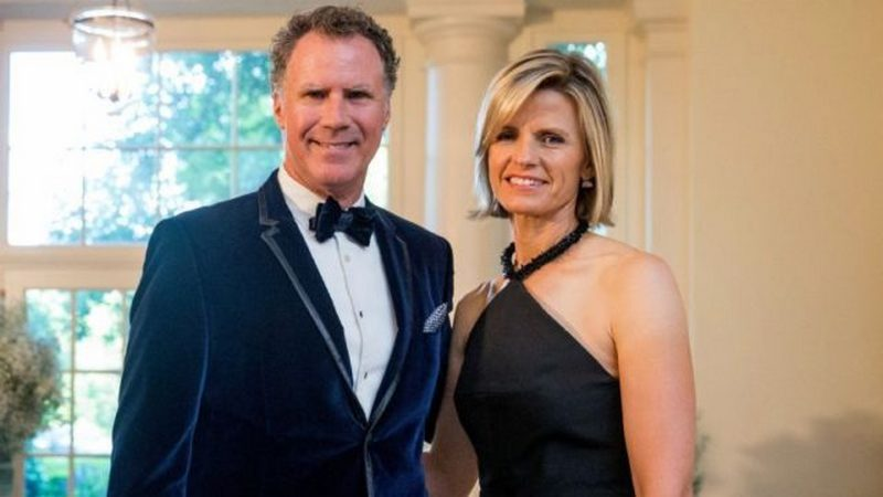 Will Ferrell family - wife Viveca Paulin