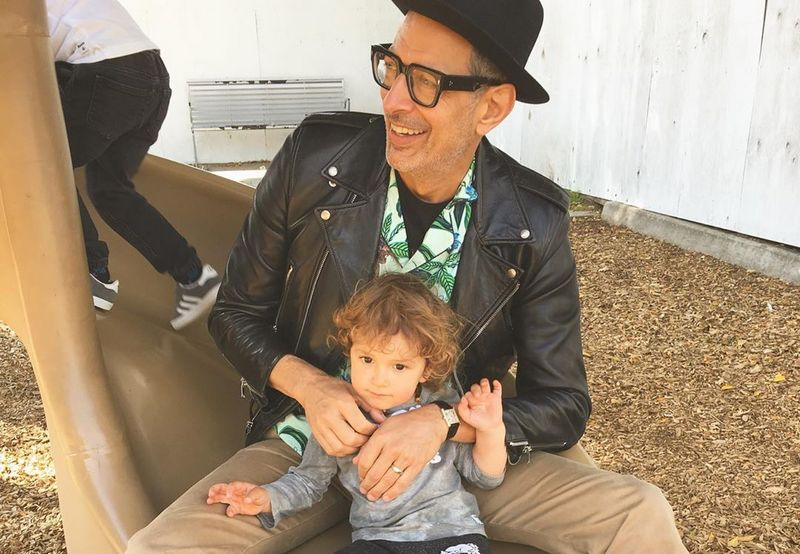 Jeff Goldblum children - son River Joe Goldblum