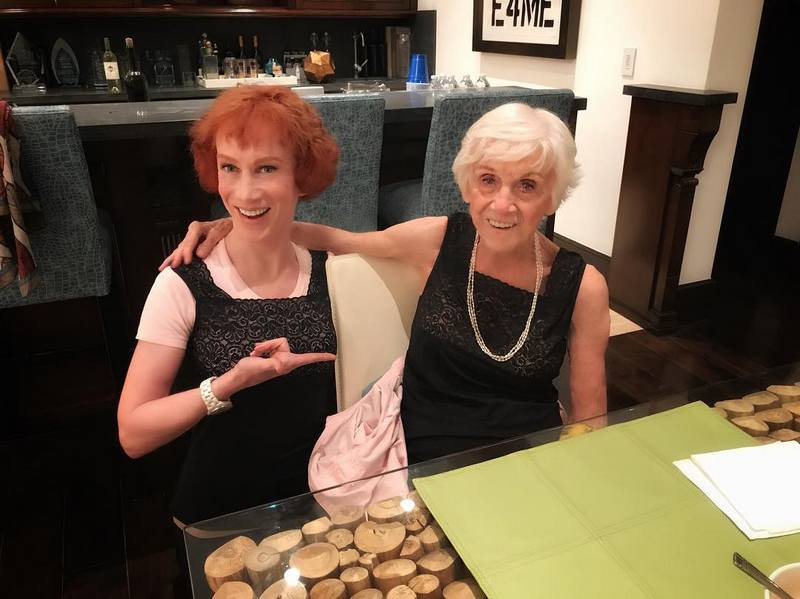 Kathy Griffin family - mother Maggie Griffin