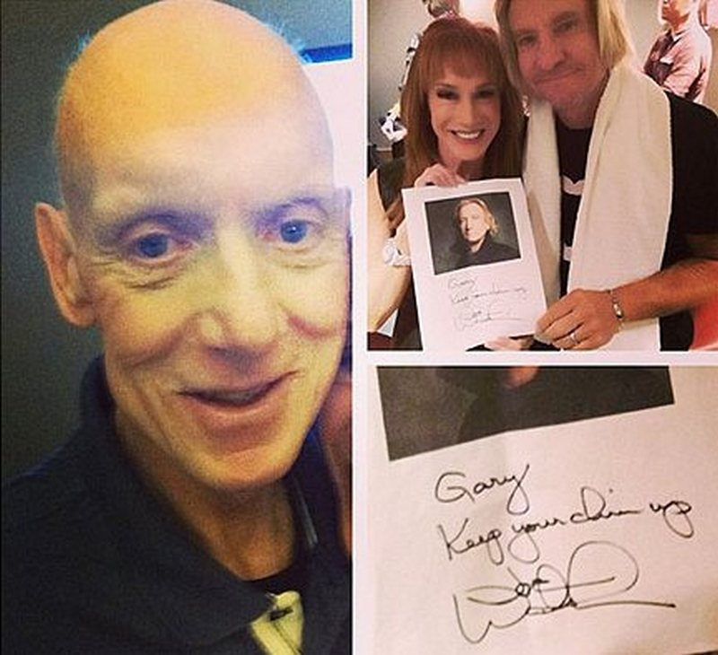 Kathy Griffin siblings - brother Gary Griffin