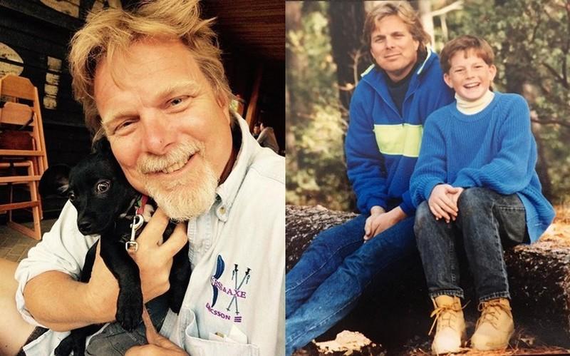 Adam Lambert family - father Eber Lambert