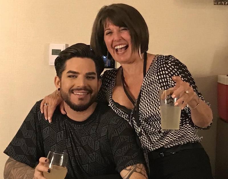 Adam Lambert family - mother Leila Mitchel