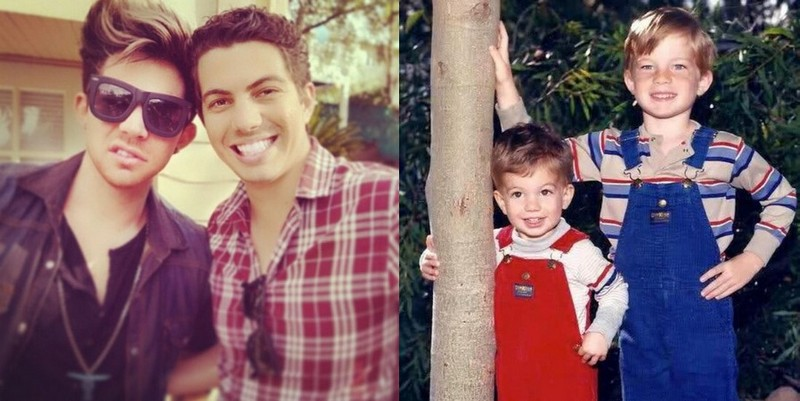 Adam Lambert siblings - brother Neil Lambert