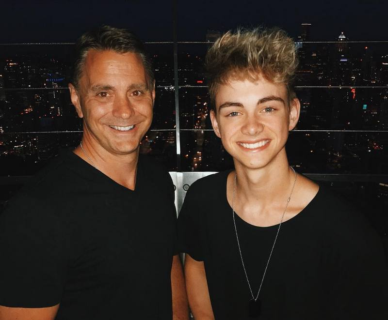 Corbyn Besson family - father Ray Besson