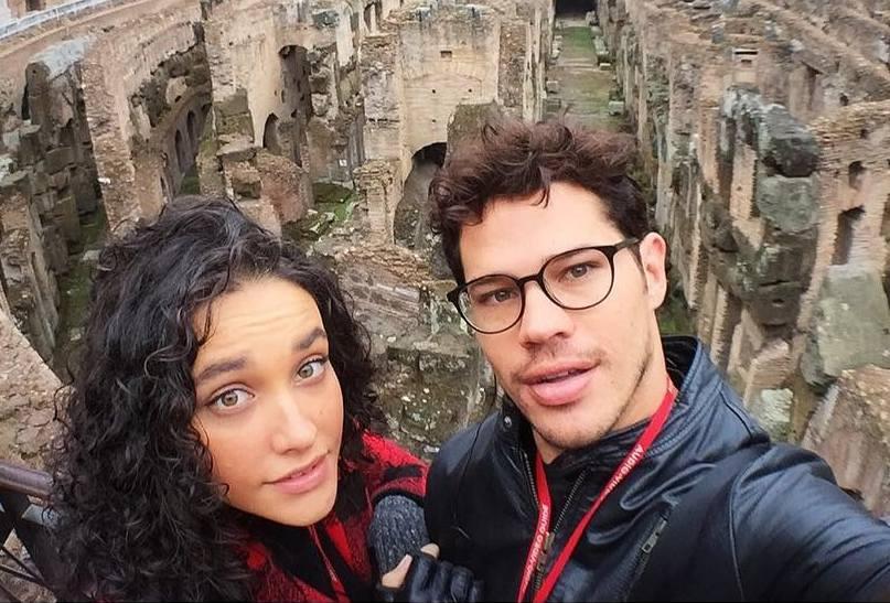 Débora Nascimento family - ex-husband Jose Loreto