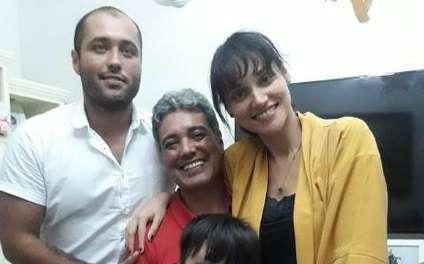 Débora Nascimento family - father Valdecir Aparecido do Nascimento