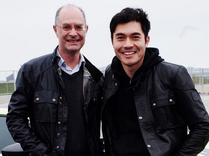 Henry Golding family - father Clive Golding