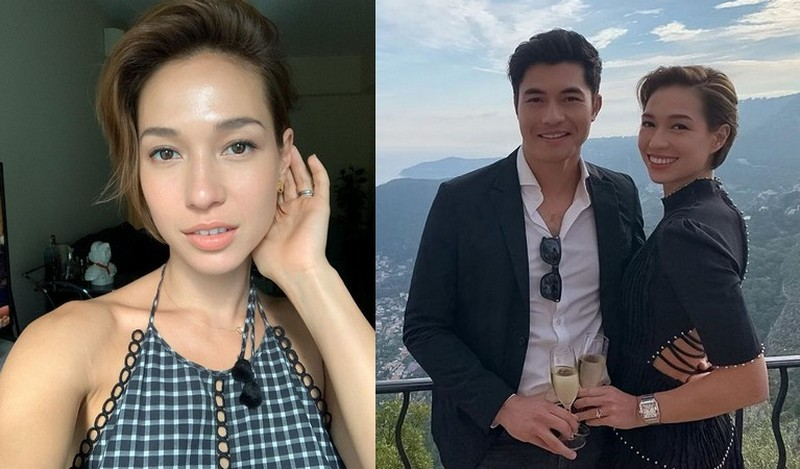 Henry Golding family - wife Liv Lo