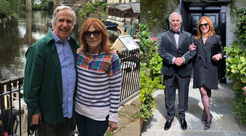 Henry Winkler family - wife Stacey Weitzman