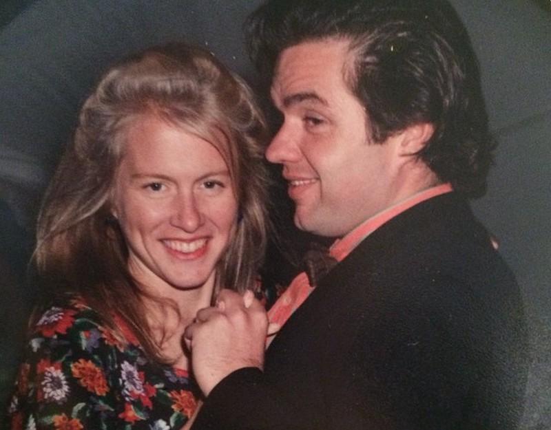 Oliver Platt family - wife Mary Camilla Bonsal Campbell