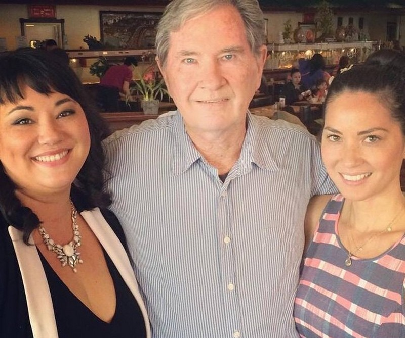 Olivia Munn family - father Winston Barrett Munn