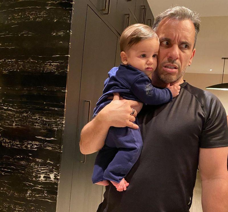 Sebastian Maniscalco children - son Caruso Maniscalco