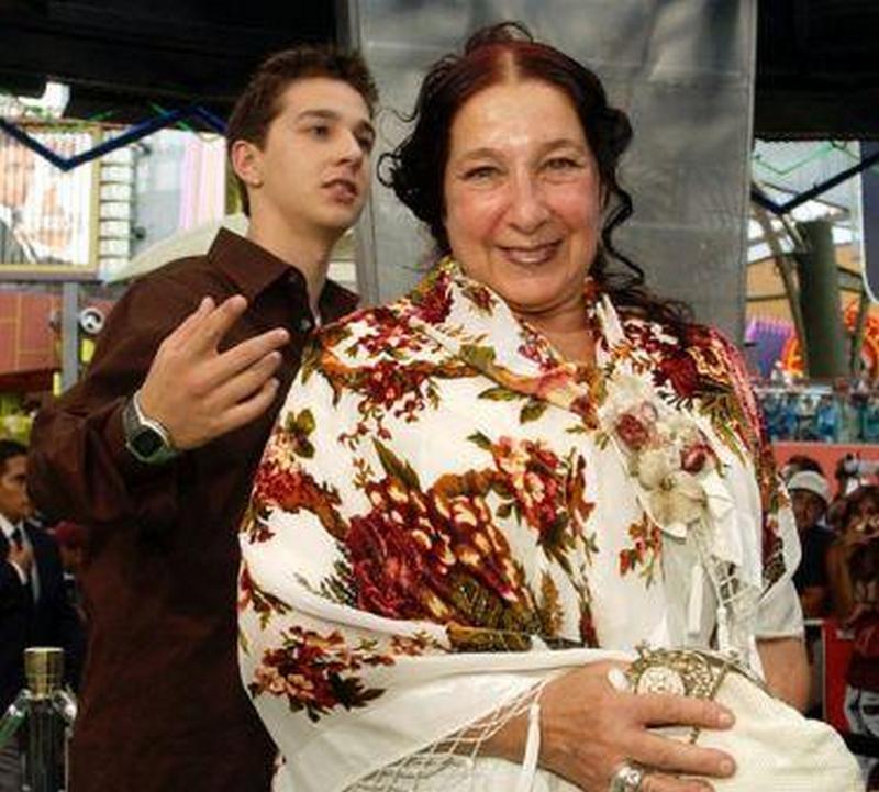 Shia LaBeouf family - mother Shayna Saide LaBeouf