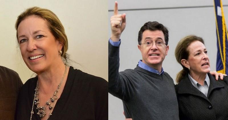 Stephen Colbert siblings - sister Elizabeth Colbert Busch