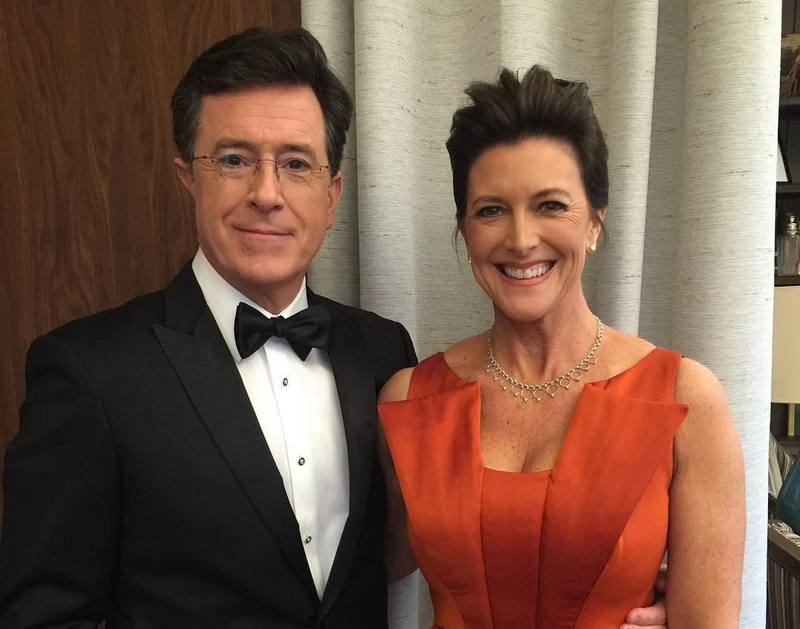 Stephen Colbert family - wife Evelyn Brabham McGee-Colbert