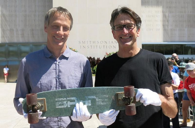 Tony Hawk siblings - brother Steve Hawk