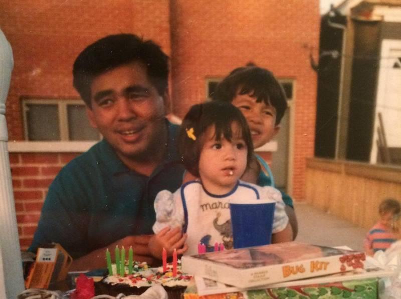 Chloe Bennet family - father Bennet Wang