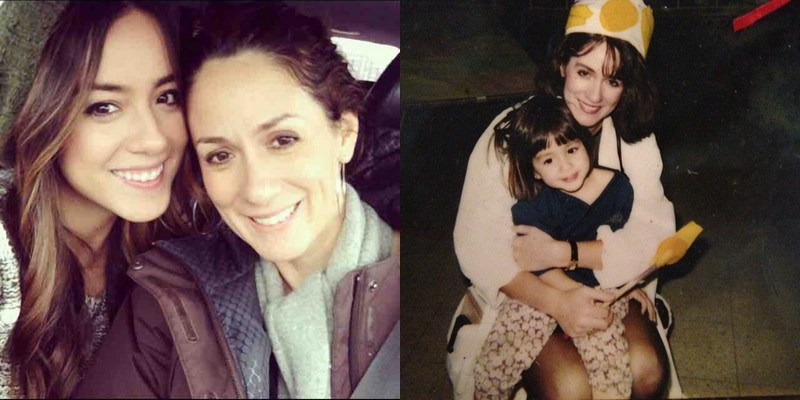 Chloe Bennet family - mother Stephanie Crane-Wang