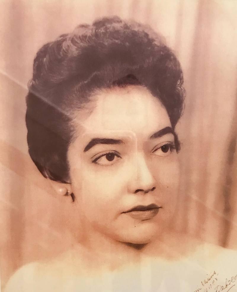 Gina Torres family - mother Rebeca Raquel Cisneros Torres
