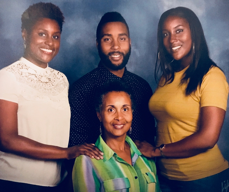 Issa Rae family - mother Delyna Diop