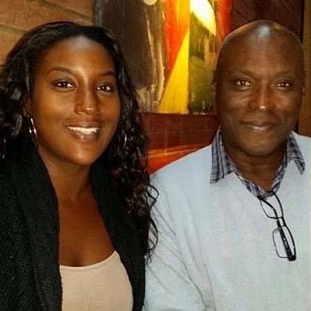 Issa Rae family - father Abdoulaye Diop