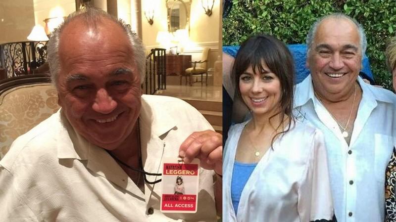 Natasha Leggero family - father John Leggero