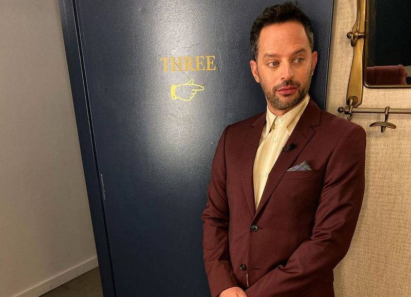 Nick Kroll Indulged In A Frozen Treat On 6